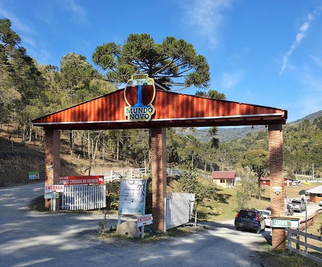 Parque Mundo Novo - Cascata do Avencal