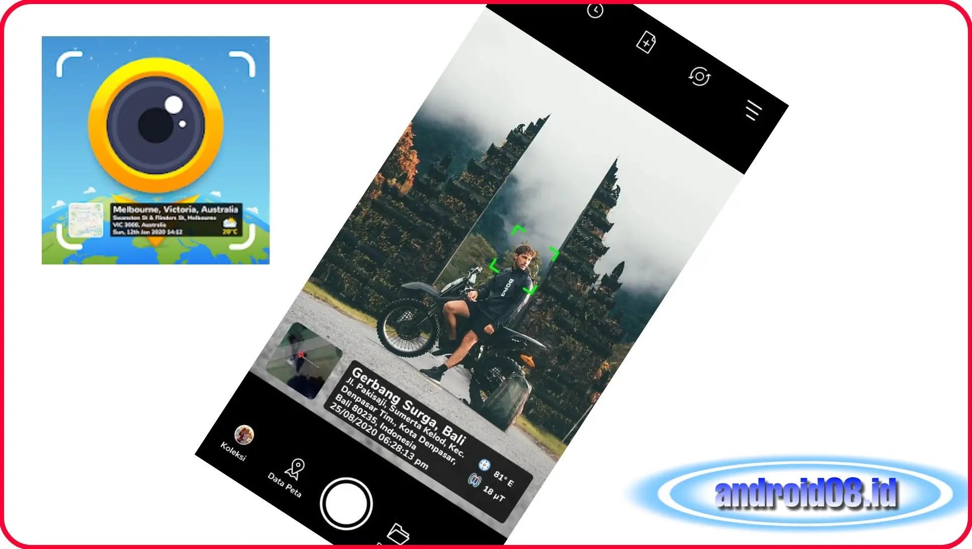 Download Aplikasi Kamera Peta GPS Pro