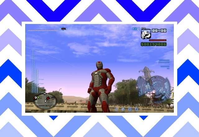 Download Game GTA San Andreas MOD IRON-Man PS2