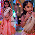 Gorgeous Girl in Peach Half Saree