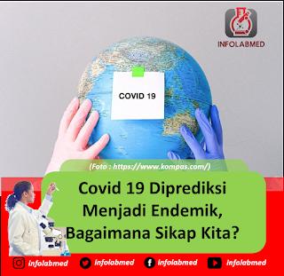 Covid 19 Diprediksi Menjadi Endemik, Bagaimana Sikap Kita?