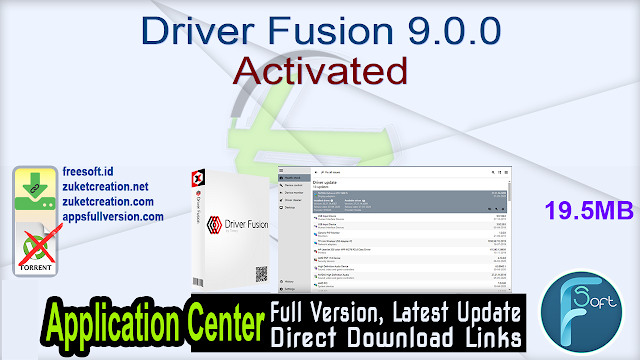 Driver Fusion 9.0.0 Activated