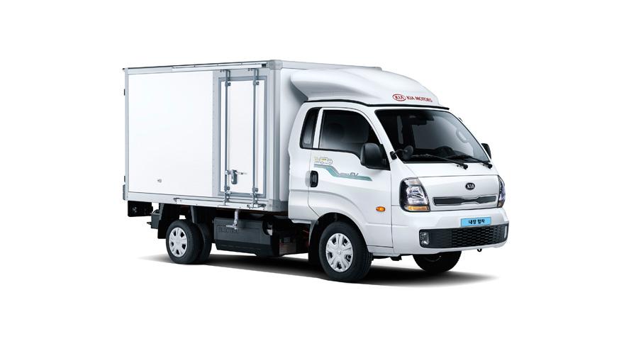 기아 봉고 III EV 특장차, 편의사양 강화 특장차 판매