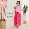 Gamis Jellyfish Type Dress Motif Flower Princess