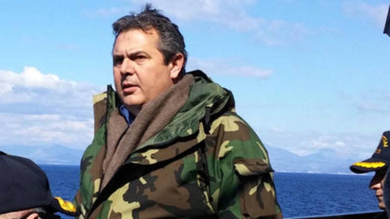 Καμμένος για Τουρκία: Ξαναζούμε το '74, κινδυνεύει η ασφάλεια του έθνους
