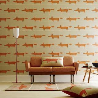 sugestões de decoração com papeis de parede para amantes de animais