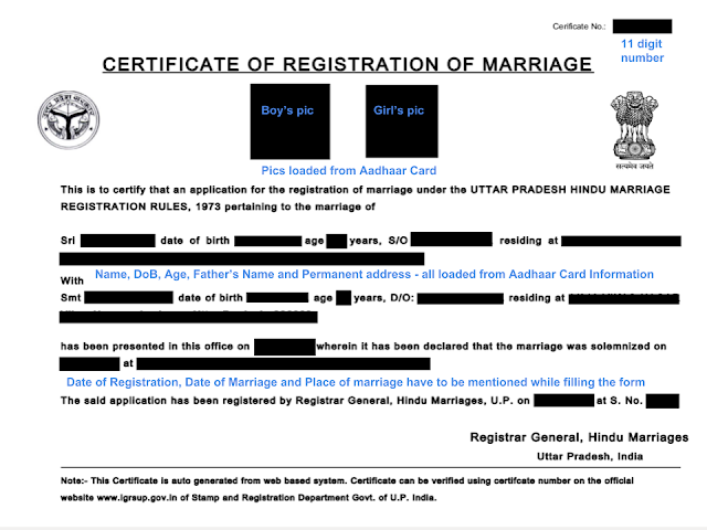 how to get marriage certificate in up