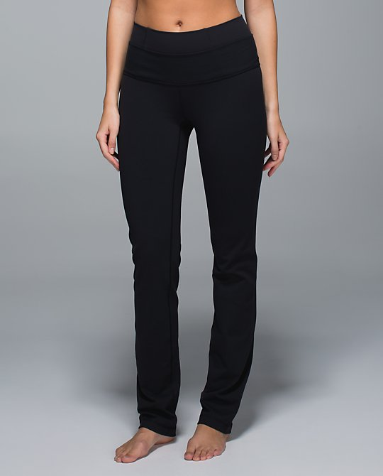 lululemon straight up pant front