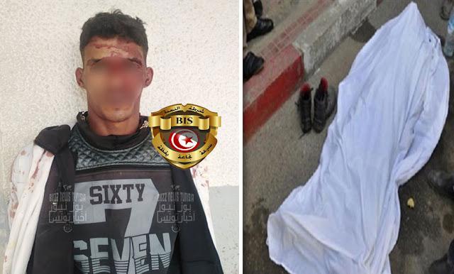 tunisie décès d'un  jeune dans un braquage en sijoumi