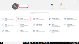 cara menghidupkan bluetooth melalui menu setting