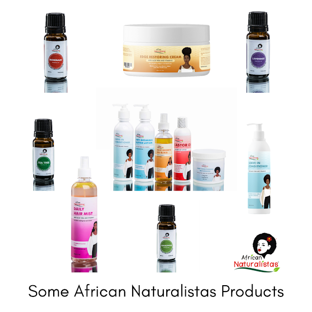 Some African Naturalistas Products