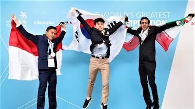 Siswa Kejuruan Indonesia Raih 2 Medali Perak di Rusia