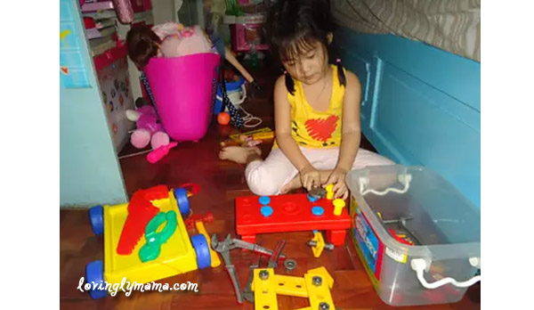 unisex toys - toys for girls - toys for boys - carpentry tools - making doll furniture