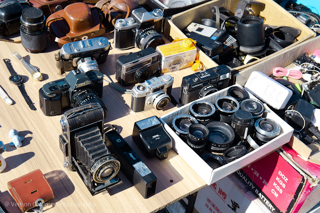 Historic value - film cameras, lenses, flash and accessories