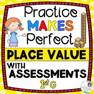 1st Grade Place Value Practice Worksheets