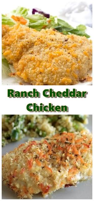 #Ranch #Cheddar #Chicken #Recipe #dinner #healthy #easy #Food #Recipes