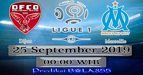 Prediksi Bola855 Dijon vs Marseille 25 September 2019