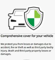 gambar menunjukkan logo insurans kereta