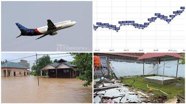 Musibah dan Bencana yang Terjadi pada Januari 2021: Pesawat Jatuh, Banjir di Kalsel, Gempa di Sulbar