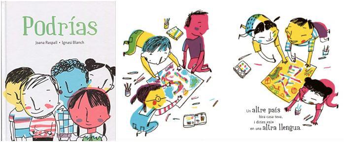 mejores libros de poesía infantil para niños, poema refugiados Podrías Joana Raspall