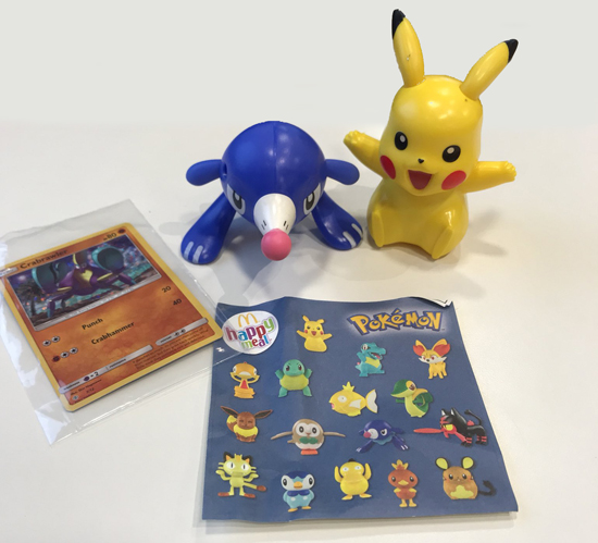 List of Pokémon toys coming to McDonalds Happy Meals From 3rd