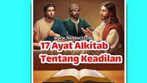17 Ayat Alkitab Tentang Keadilan