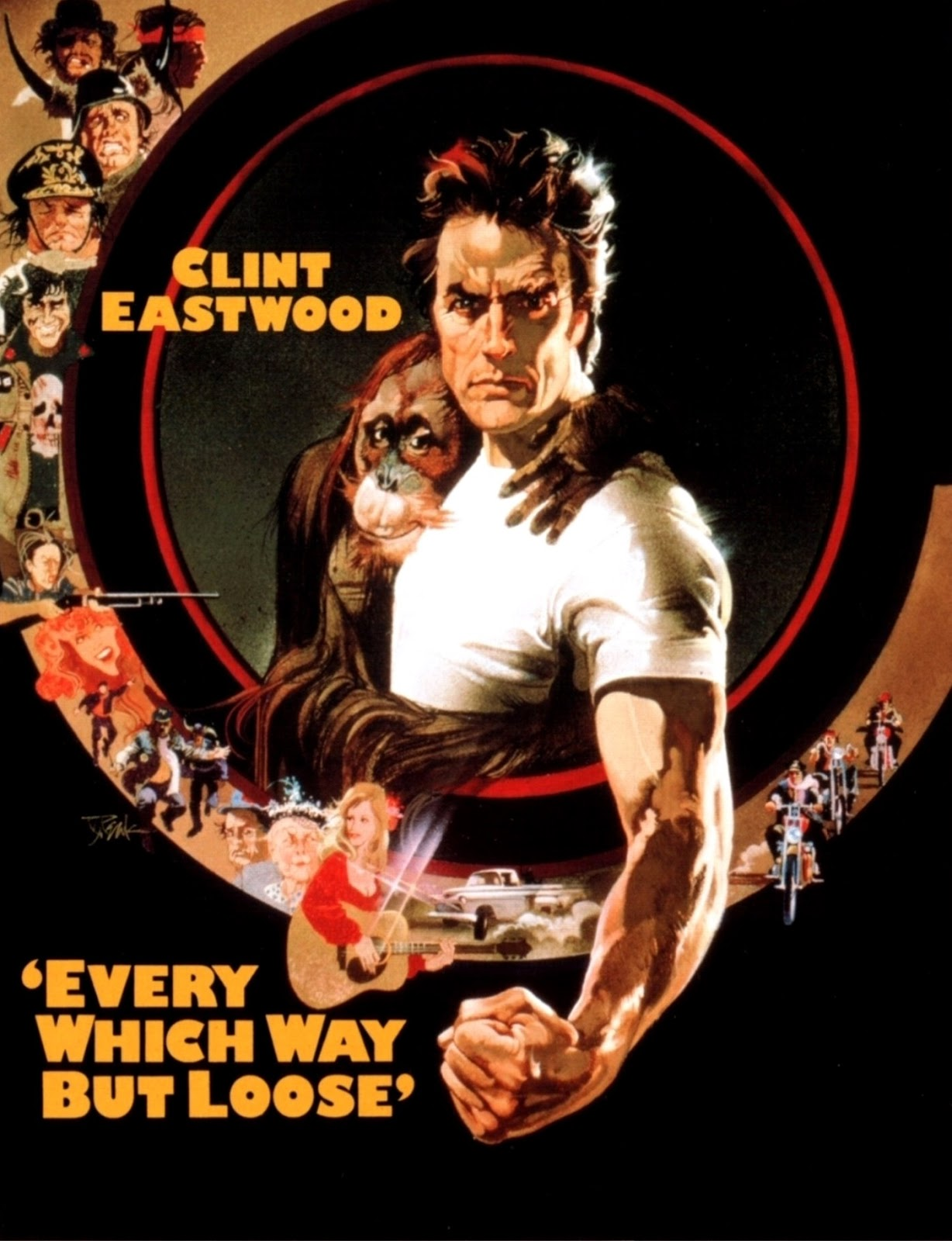Every Which Way But Loose [1978] [DVD9] [NTSC] [Subtitulado]