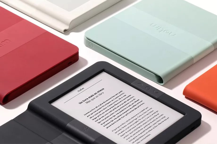 French E-reader introduced with colorful display and a square shape