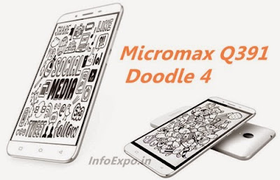 MicromaxQ391 Doodle 4: 6 inch, Android Lollipop Phone Specs, Price