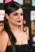 Glamorous Actress Neetu Chandra in Black dress at IIFA Utsavam Awards 2017  HD Exclusive Pics 12.JPG