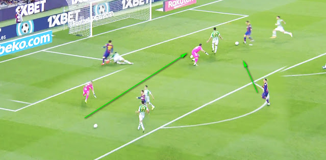 Lionel Messi Produces Incredible Dummy During Second Half Masterclass For Barcelona Vs Real Betis