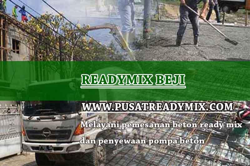 Harga Beton Ready mix Beji 2020