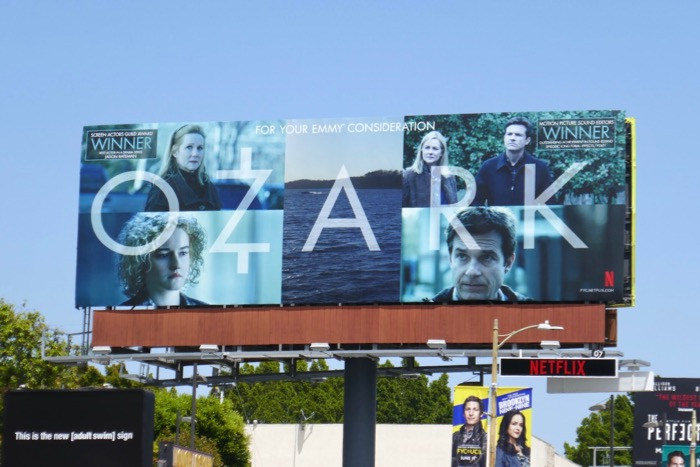 Ozark 2019 Emmy FYC billboard