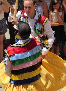 Danza de los troqueaos de Anguiano