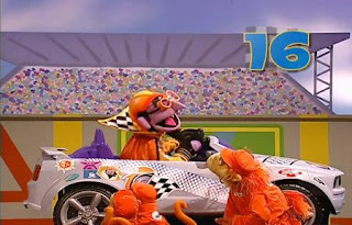 The Count is in Nascount races. Sesame Street Best of Friends