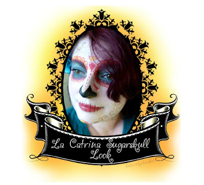 mein Tutorial des Sugarskull Looks