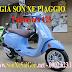 Bảng giá sơn xe máy Piaggio Vespa Primavera