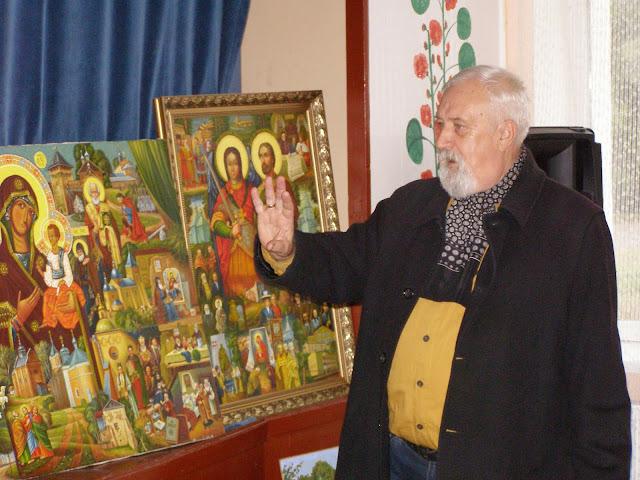 Зустріч з художником Володимиром Жупанюком у Вишневі
