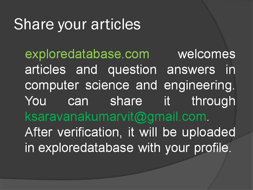 Share Your Articles