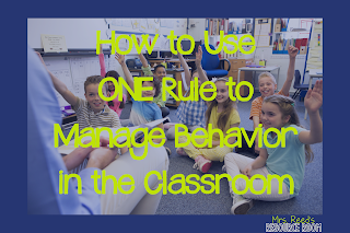 Managing behavior classroom behavior