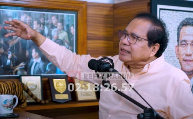 Beber 5 Alasan Jokowi Harus Mundur, Rizal Ramli: Saya Minta Mas Ngaca, Supaya Tahu Diri