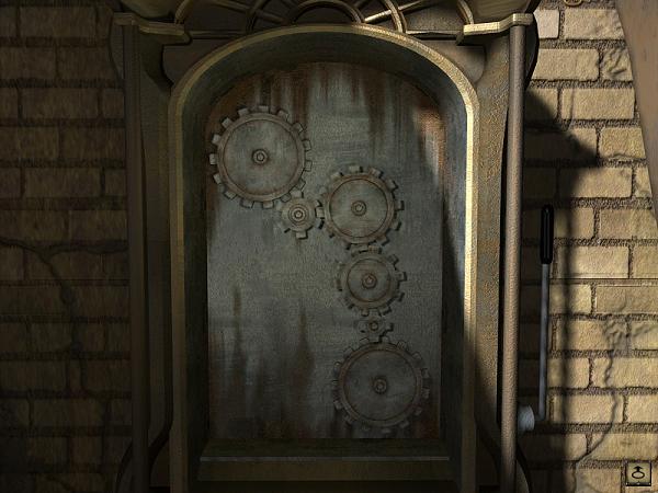 ремонт механизма лифта, вставка шестеренок в игре сибирь