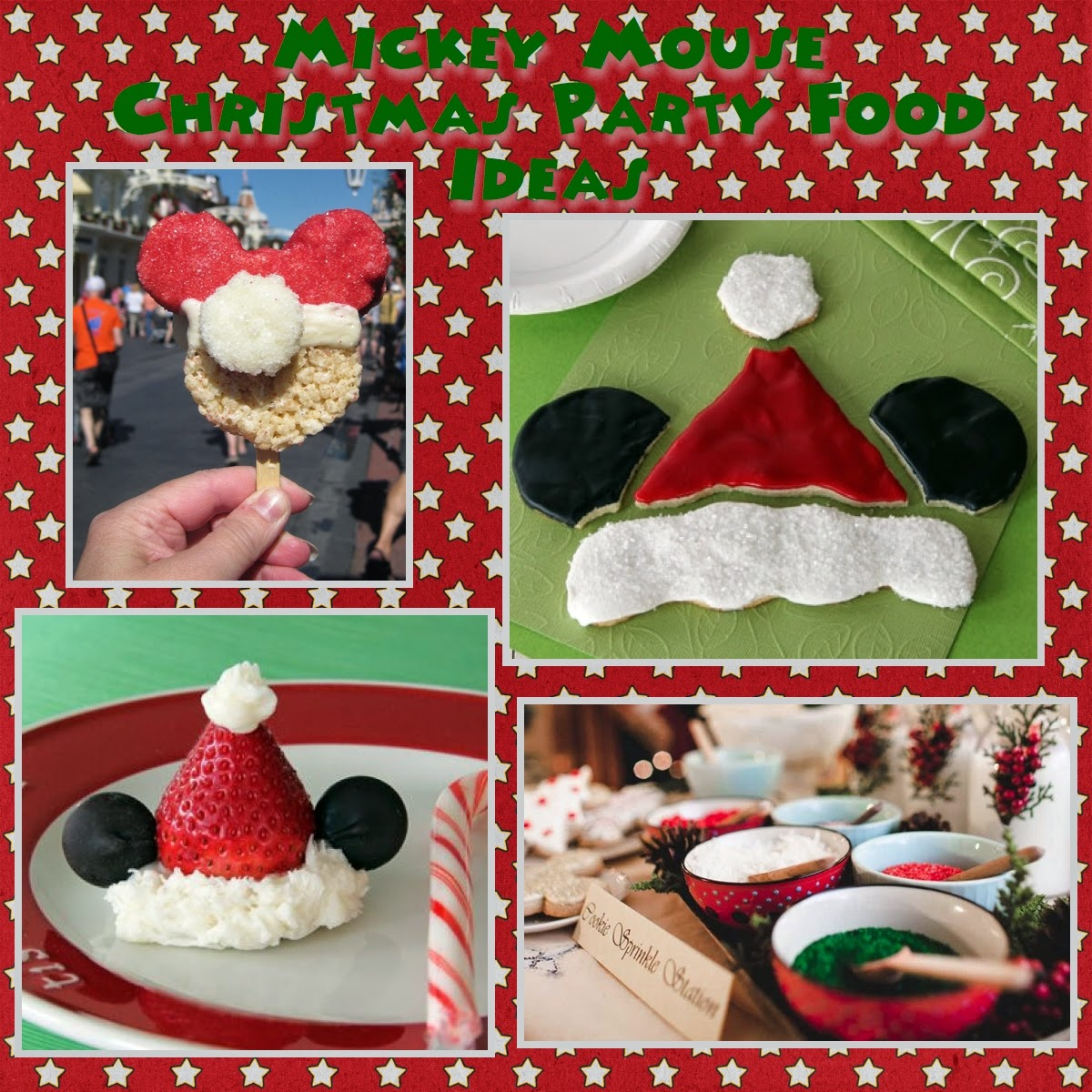 Mickey Mouse Christmas Party Ideas & Mickey Mouse Party Food Activity Ideas - Food Ideas For Mickey Party