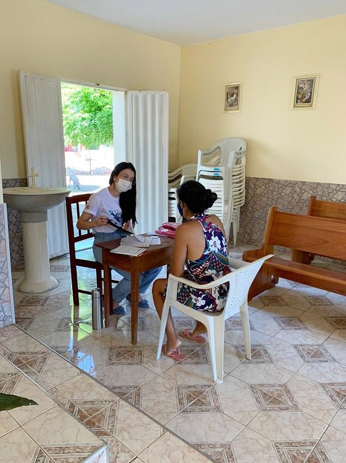 Muquém de Santo Antônio/Cariré recebeu atendimentos da Equipe de Saúde da Família da Sede 1