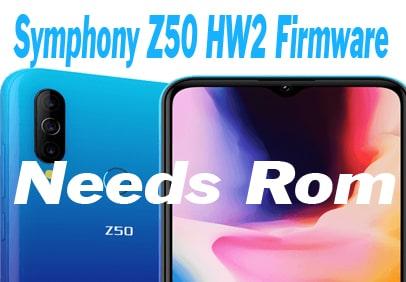 Symphony Z50 HW2 Firmware Stock ROM