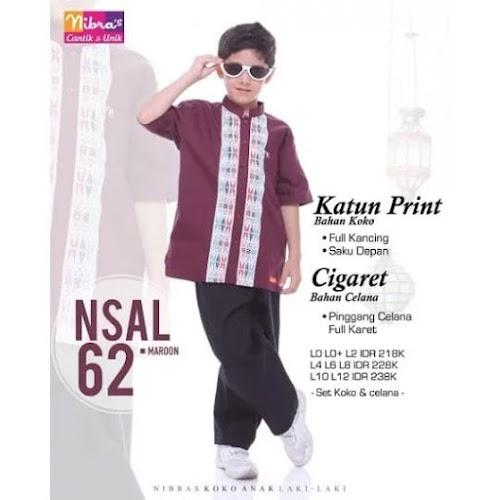 nibras koko anak promo NSAL 62