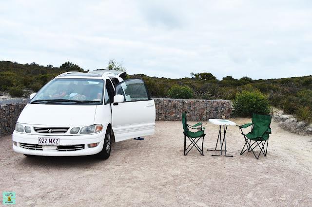 Camper en Western Australia