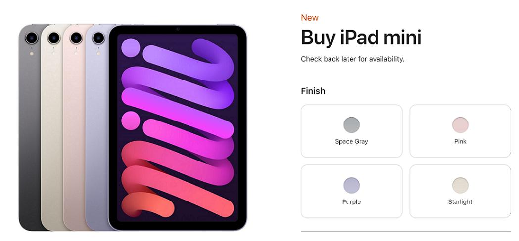iPad mini terbaru 2021 yang serba baru