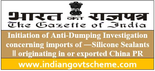 Initiation of Anti-Dumping Investigation