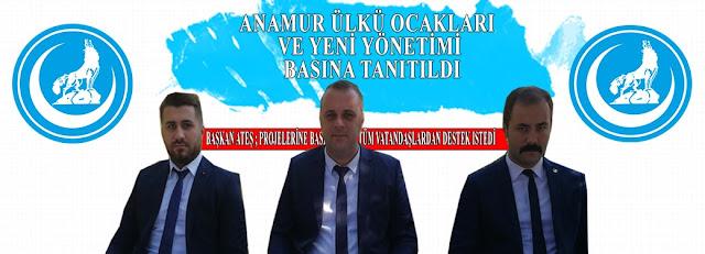 MANŞET, Anamur Haber, Anamur Son Dakika, SİYASET, ANAMUR ÜLKÜ OCAKLARI,